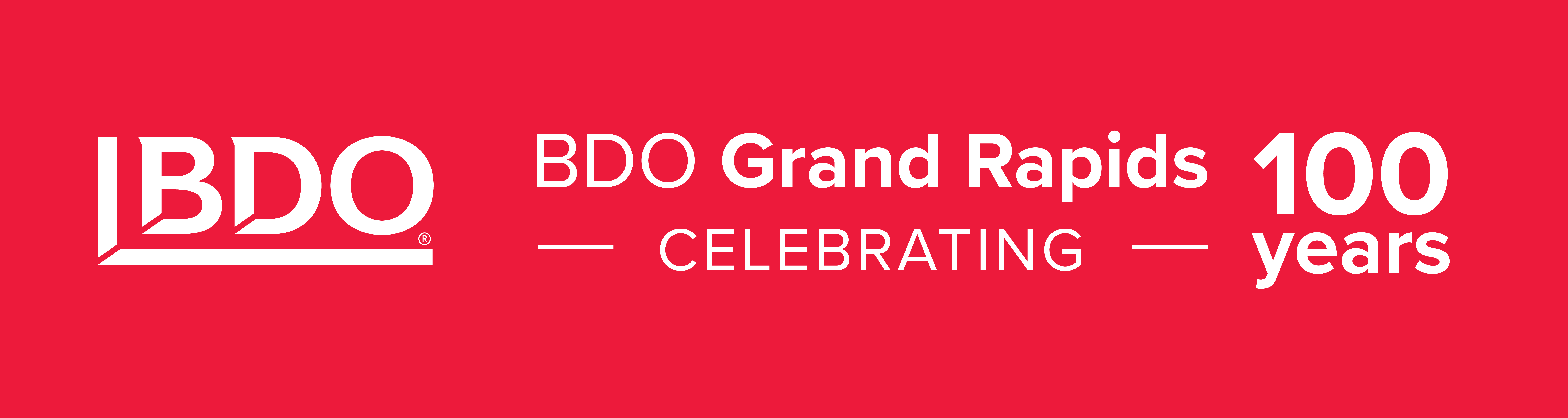 BDO Grand Rapids Celebrating 100 Years